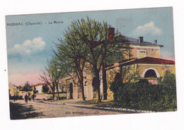 CPA Colorisée Hiersac, Charente, Mairie - Altri Comuni