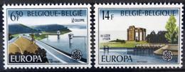 BELGIQUE                    N° 1848/1849     EUROPA                      NEUF** - Ungebraucht