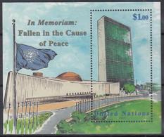 UNO NEW YORK  Block 17, Postfrisch **, In Memoriam, 1999 - Blocks & Sheetlets