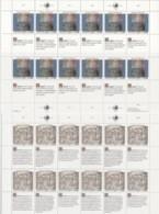 UNO GENF 192-193, 2 Kleinbogen, Postfrisch **, Allgemeine Erklärung Der Menschenrechte 1990 - Blocks & Sheetlets