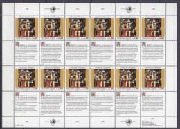 UNO GENF 233-234, 2 Kleinbogen, Postfrisch **, Allgemeine Erklärung Der Menschenrechte 1993 - Blocks & Sheetlets