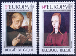 BELGIQUE                    N° 1970/1971     EUROPA                      NEUF** - Ungebraucht