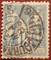 R1311/1171 - SAGE TYPE II N°90 - CàD Des JOURNAUX PARIS PP26 Du 22 MAI 1889 - 1876-1898 Sage (Type II)