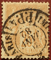 R1311/1172 - SAGE TYPE II N°92 - CàD Des IMPRIMES PARIS PP41 Du 20 JANVIER 1882 - 1876-1898 Sage (Type II)