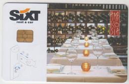 GREECE Hotel Keycard - Hyatt Regency Thessaloniki Ambrosia / Peugeot 407 ,used - Hotel Keycards