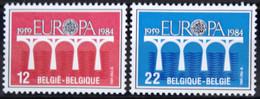 BELGIQUE                    N° 2130/2131     EUROPA                      NEUF** - Ungebraucht