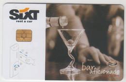 GREECE Hotel Keycard - Hyatt Regency Thessaloniki Ambrosia / Sixt Peugeot 407 ,used - Hotel Keycards