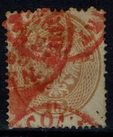 AUSTRIA  1863 DOUBLE EAGLE MI No 28 USED VF!! - Used Stamps