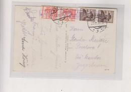 AUSTRIA 1935 ASPANG Nice Postcard To Yugoslavia ST. CORONA Postal Agency - Covers & Documents