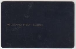 EGYPT Hotel Keycard - Grand Hyatt Cairo (Black Stripe) ,used - Hotel Keycards