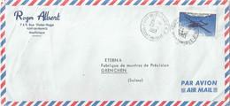 "Airmail Brief  ""Robert Albert, Fort De France (Martinique)"" - Grenchen           1963 - Briefe U. Dokumente"