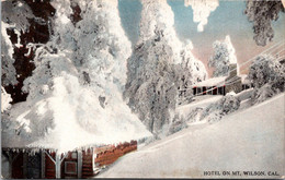 California Hotel On Mount Wilson In Winter Curteich - Other