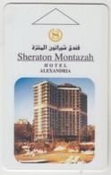EGYPT Hotel Keycard - Sheraton Montazah Hotel Alexandria ,used - Hotel Keycards