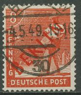 Berlin 1949 Rotaufdruck 23 Mit TOP-Stempel - Gebraucht