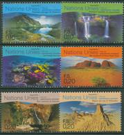 UNO Genf 1999 UNESCO Australien Nationalpark Landschaften 363/68 Postfrisch - Unused Stamps