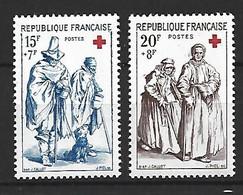Timbre France En Neuf ** N 1140/1141 - Ungebraucht