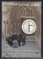 2021-ED. 5519 - Patrimonio Inmaterial De La Humanidad. Tribunal De Las Aguas De La Vega De Valencia - USADO - 2011-... Usati