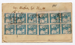 1921.  KINGDOM OF SHS, CROATIA, ZAGREB TO IVANEC, REGISTERED COVER, CHAINBREAKERS - Briefe U. Dokumente