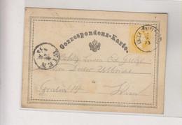 AUSTRIA 1873 UNTERWALTERSDORF  Nice Postal Stationery - Covers & Documents