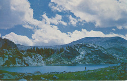 SENECA LAKE, WILDERNESS AREA, WYOMING,USA,     Real Photo By Philip Hyde, Pub. By Sierra Club -45-- - Unclassified