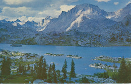 FERMONT PEAK  AND ISLAND LAKE,  WILDERNESS AREA, WYOMING,USA,   Real Photo By Philip Hyde, Pub. By Sierra Club -44-- - Unclassified
