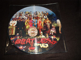 33/LP  PICTURE DISC  BEATLES ST PEPPERS LONELY HEARTS CLUB BAND - Other - English Music