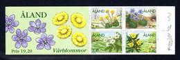 ALAND 1997 - Carnet Yvert N° C123 - Facit H6 - NEUF ** / MNH - Booklet - Flore, Fleurs Printanières - Ålandinseln