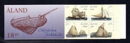 ALAND 1995 - Carnet Yvert N° C95 - Facit H4 - NEUF ** / MNH - Booklet - Bateaux De Transport De L'archipel - Ålandinseln
