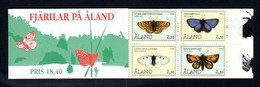 ALAND 1994 - Carnet Yvert N° C82 - Facit H3 - NEUF ** / MNH - Booklet - Faune, Papillons - Ålandinseln