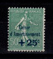 YV 247 N** Caisse D'Amortissement Semeuse Cote 15 Euros - Ungebraucht