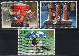 GRAN BRETAGNA - 1983 - NATALE - COLOMBE - BUCA DELLE LETTERE - RE MAGI - PACE NEL MONDO - USATI - Gebraucht
