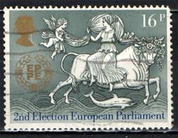 GRAN BRETAGNA - 1984 - ELEZIONE DEL PARLAMENTO EUROPEO - TORO - ANGELO - USATO - Gebraucht
