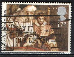 GRAN BRETAGNA - 1985 - LEGGENDA DI RE ARTU' - RE ARTU' E MERLINO - CAVALIERI DELLA TAVOLA ROTONDA - USATO - Gebraucht
