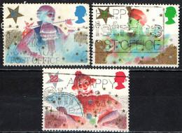 GRAN BRETAGNA - 1985 - NATALE - CHRISTMAS - PANTOMIME - USATI - Gebraucht