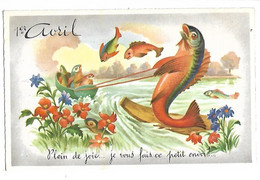 1ER AVRIL - POISSON D'AVRIL - Série 1090 - 1 De April (pescado De Abril)