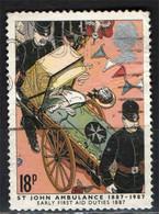 GRAN BRETAGNA - 1987 - SERVIZIO AMBULANZE ST JOHN - PRIMO SOCCORSO - AMBULANZA - USATO - Gebraucht