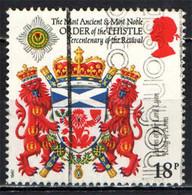 GRAN BRETAGNA - 1987 - STEMMA ARALDICO - LORD LYON - USATO - Used Stamps