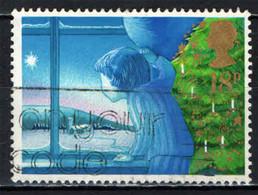 GRAN BRETAGNA - 1987 - NATALE - IL BAMBINO ED IL NATALE - LA VIGILIA DI NATALE - USATO - Used Stamps