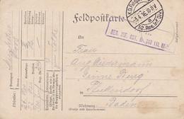Feldpostkarte - Res. Inf. Rgt. 240 - Nach Pfaffendorf - 1916 (58103) - Covers & Documents