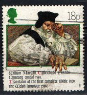 GRAN BRETAGNA - 1988 - WILLIAM MORGAN - TRADUTTORE DELLA BIBBIA IN LINGUA GALLESE - USATO - Used Stamps