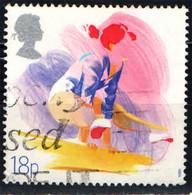 GRAN BRETAGNA - 1988 - GINNASTICA - SPORT - ASSOCIAZIONI SPORTIVE - USATO - Used Stamps