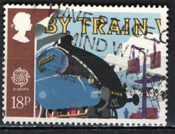 GRAN BRETAGNA - 1988 - TRENO - MEZZO DI TRASPORTO - EUROPA - USATO - Used Stamps