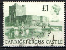 GRAN BRETAGNA - 1988 - CASTELLO - CARRICKFERGUS CASTLE - USATO - Used Stamps