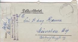 Feldpostbrief - Armeepostdirektor 6 - Nach München - 1917 (58104) - Covers & Documents