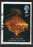 GRAN BRETAGNA - 1989 - ISTRUZIONE PUBBLICA - PUBLIC EDUCATION IN ENGLAND - 1839 TO 1989 - USATO - Used Stamps