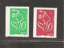 France, Roulette, 3742, 3743, Légende ITVF, Neuf **, TTB, Roulette, Marianne De Lamouche - 2004-08 Marianne (Lamouche)
