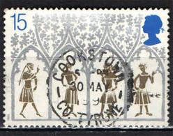 GRAN BRETAGNA - 1989 - NATALE - CATTEDRALE DI ELY - USATO - Used Stamps