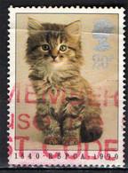 GRAN BRETAGNA - 1990 - GATTINO - USATO - Used Stamps