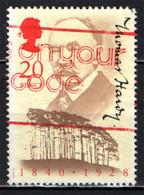 GRAN BRETAGNA - 1990 - THOMAS HARDY - SCRITTORE POETA - PERSONALITA' - USATO - Used Stamps