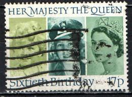 GRAN BRETAGNA - 1986 - QUEEN ELIZABETH II - 60TH BIRTHDAY - 60° COMPLEANNO DELLA REGINA ELISABETTA II - USATO - Used Stamps